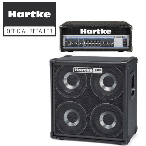 Hartke HA3500 Amplifier Head and HD410B Cabinet with 0% Instalment on