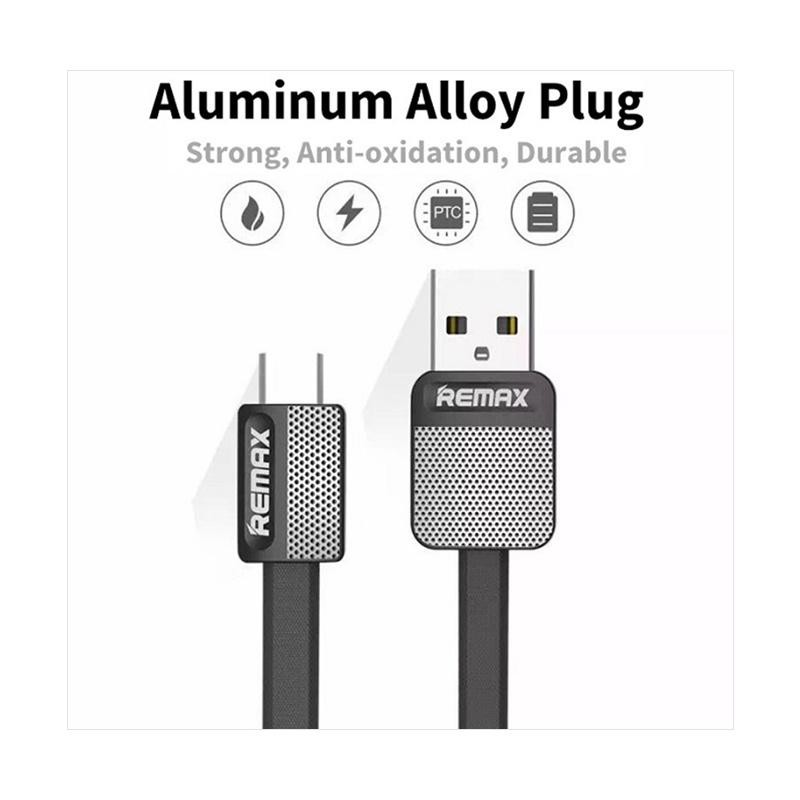 Remax Metal Platinum Micro USB Fast Charging and Data Transfer Cable micro usb type c lightnning