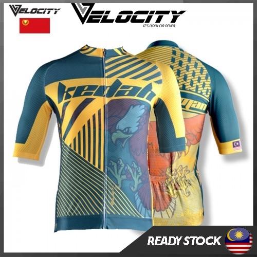 Velocity Velocool Unisex Polyster Cycling Kedah Jersey  V.1