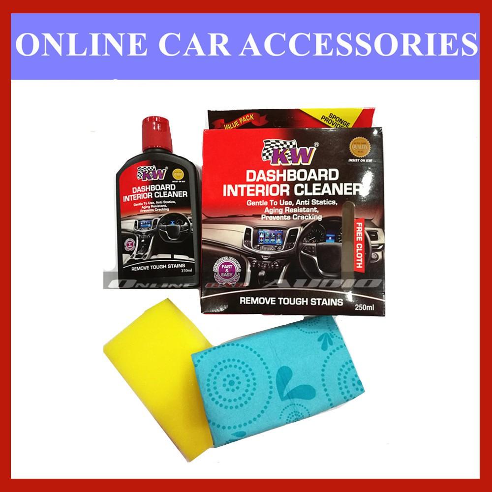 KW Dashboard Interior Cleaner (free Cloth) 250ml