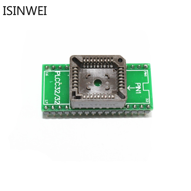 Pack of 5 PLCC32 DIP Socket