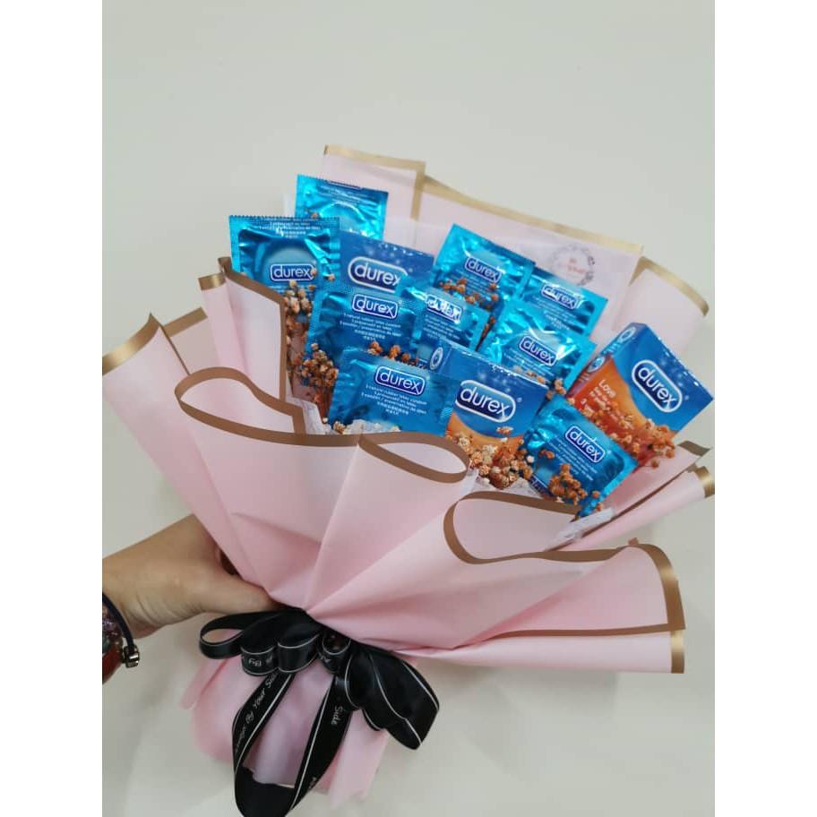 Condom Bouquet / Durex / 安全套花束  Shopee Malaysia