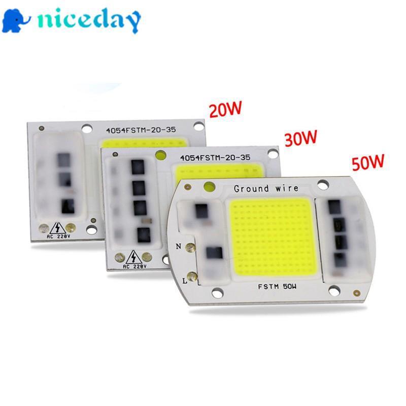 220V 20W 30W 50W 70W 100W LED Floodlight COB Chip Integrated Smart IC Driver