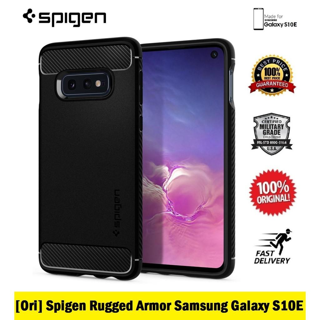 [Ori] Spigen Tough Armor Samsung Galaxy S10+ Plus   Shopee Malaysia