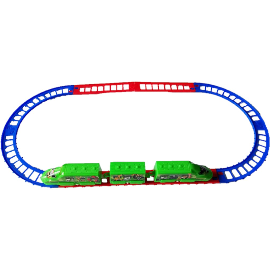 Summer Toys Ben 10 Avengers Train Track Toys Set The Most Attractive Gifts for The Kids Children