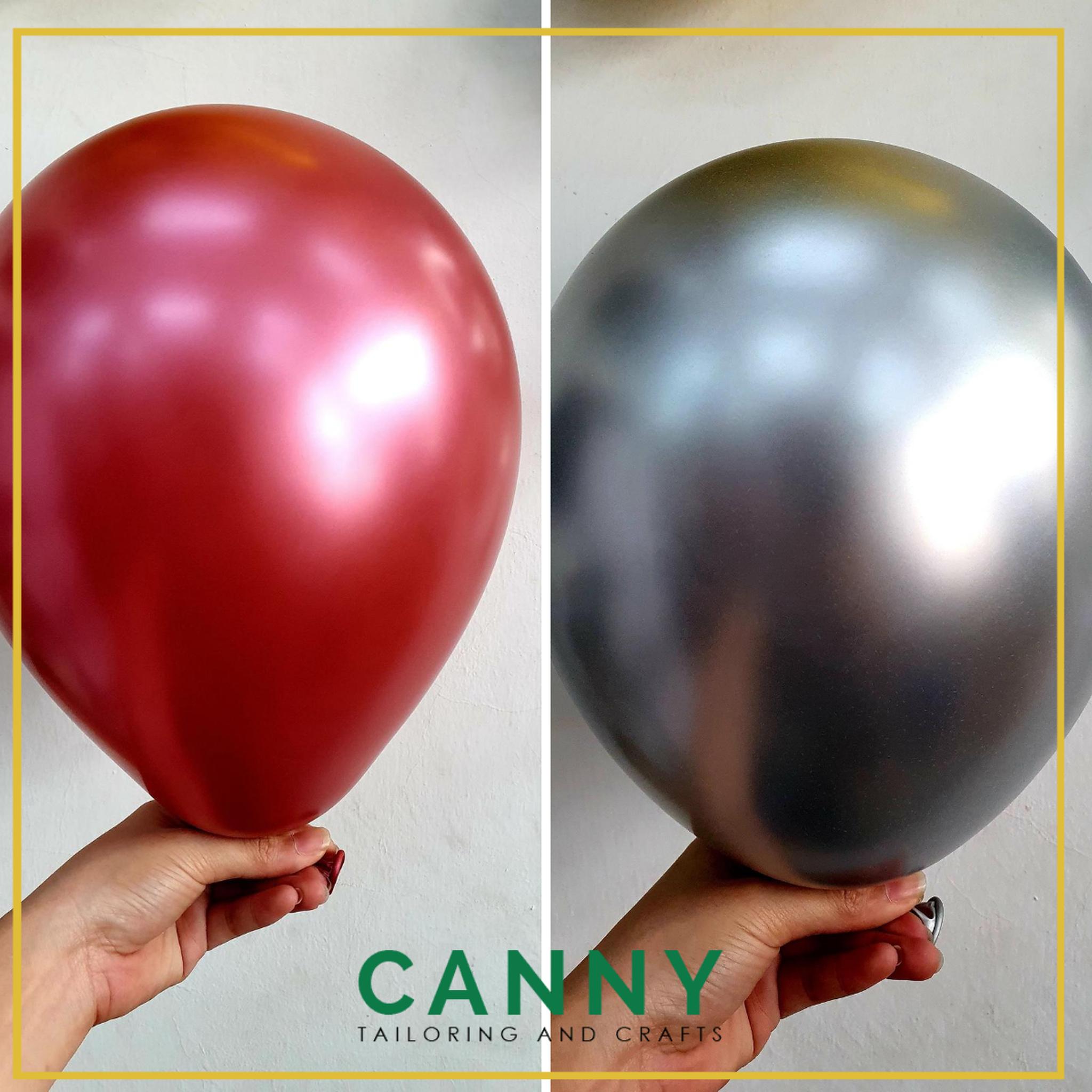 "1 pcs Chrome Balloon 12"" / Belon Chrome Berkilat 12 Inci (1 pcs)"