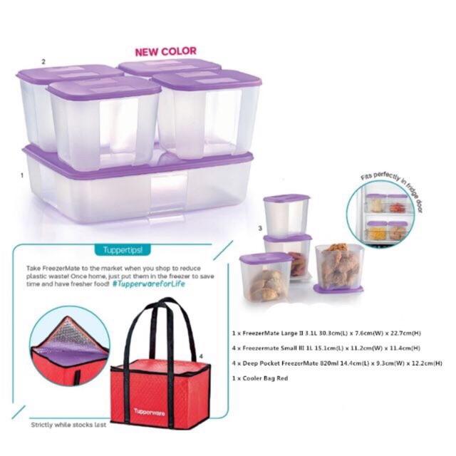 Tupperware FreezerMate Compact Set (Full)
