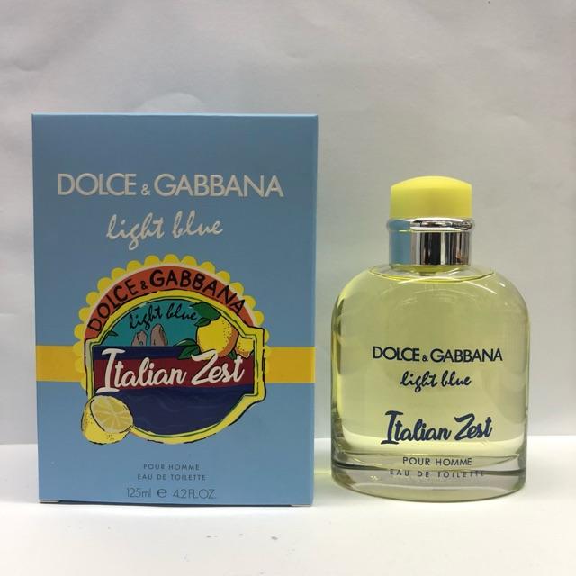 88bc0a16d372b9 DOLCE   GABBANA LIGHT BLUE ITALIAN ZEST MEN 125ML   Shopee Malaysia