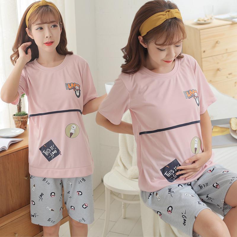 a4a36da62 summer new nursing dress sleepwear home service maternity dress   Shopee  Malaysia