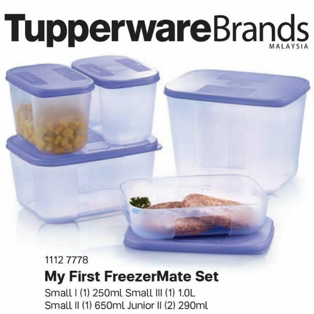 My first freezer mate set (5pcs/set)