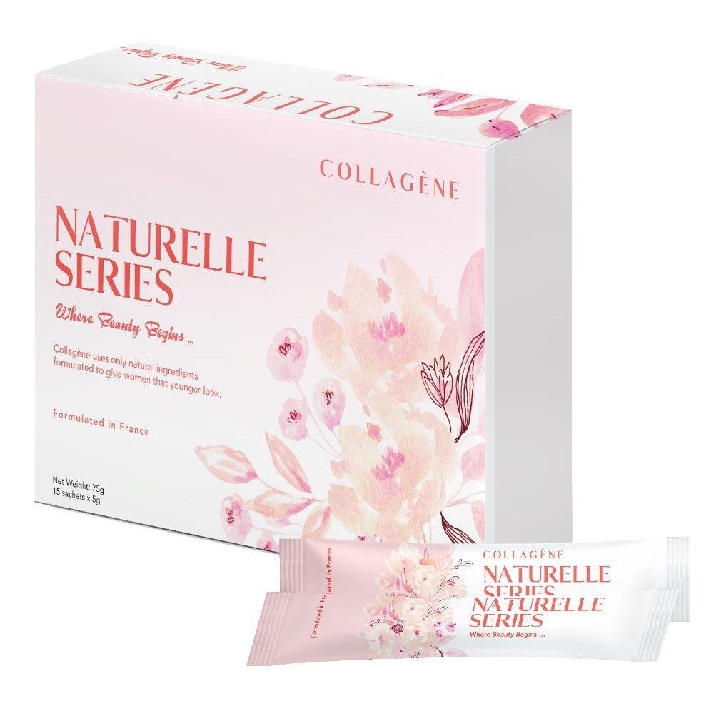 Collagene Naturelle Series Collagen (Formulated in France)- 75g (15 sachets x 5g)