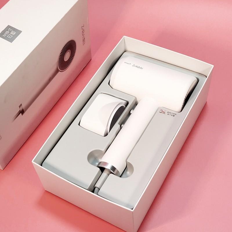HL312 Xiaomi Mi Home ZHIBAI Anion Hair Dryer 1800W Portable 2 Speed Temperature