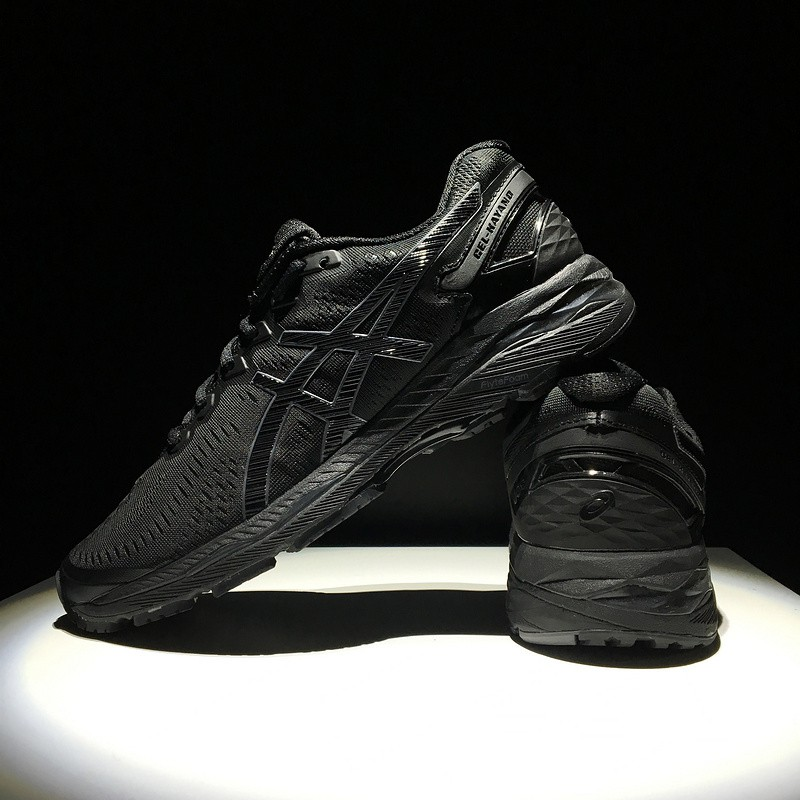 san francisco 352c8 16e6d Asics Arthur Person Gel-kayano 23 T646n Black Out Mens Mesh Knit Sport  Running Shoes 36-45