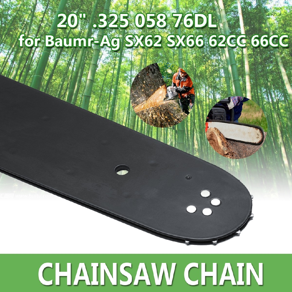 20/'/' Bar Sprocket Nose for Baumr-Ag SX62 SX66 62CC 66CC Chainsaw .325 058 76DL !