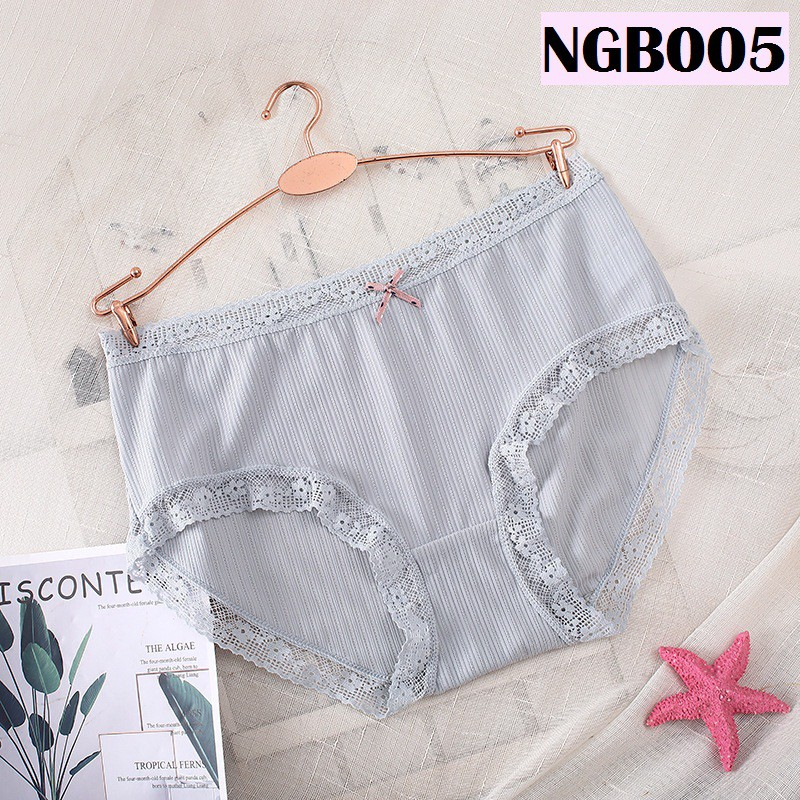 Women Underwear Ladies Panties Soft Silky Lingerie Nightwear Wanita Seluar Dalam Perempuan 透气冰丝女士内裤 N005