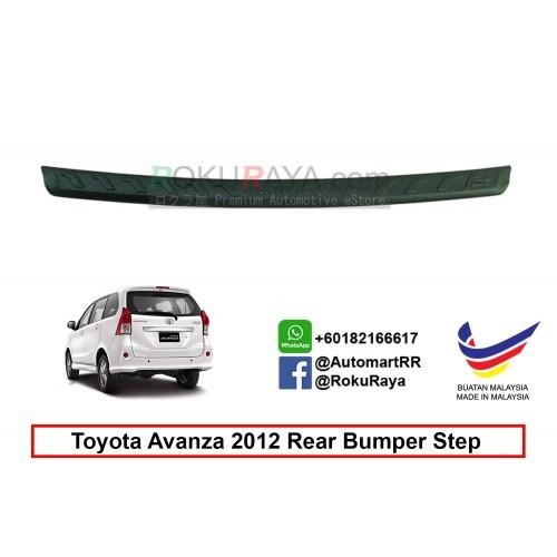 Toyota Avanza ( 2nd Gen ) 2011 Rear Bumper Step Protector