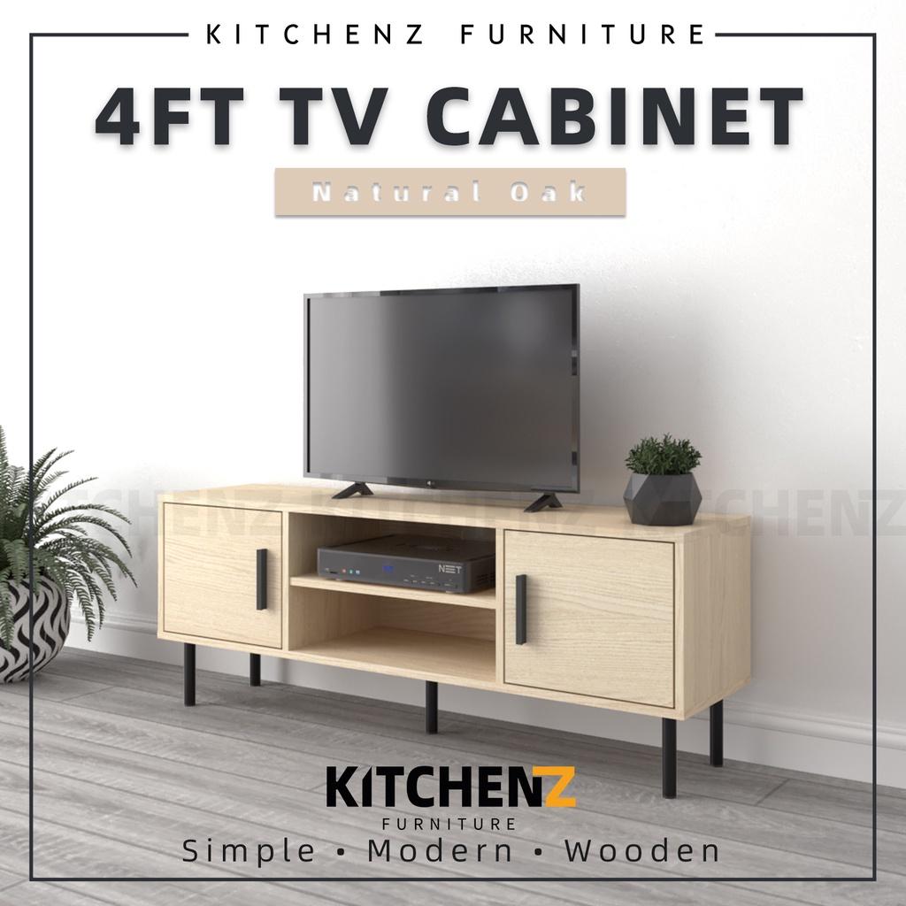 Homez 4Ft Tv Cabinet Modernist Design Solid Board Tv Rack / Tv Console - HMZ-FN-TC-EC5015