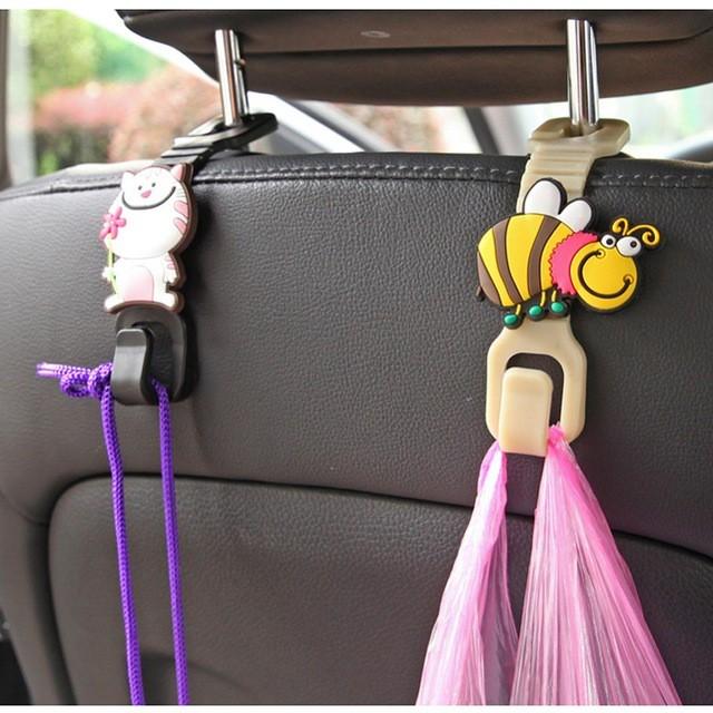 Flourishing Apple Tree Foldable Retractable Purse Bag Handbag Hook Hanger Holder