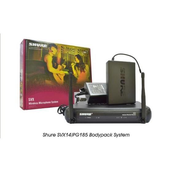 Shure Bodypack System SVX14/PG185