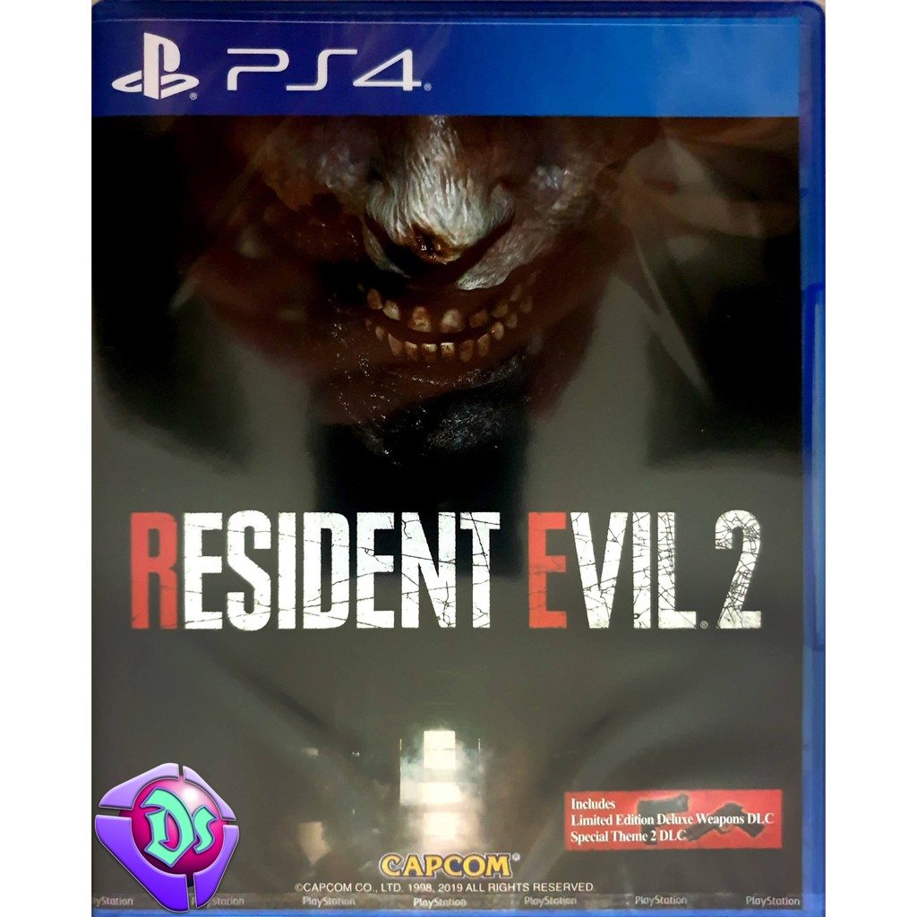 Resident Evil 2 (with DLC) - PS4 Game | ENG/CHN | R3