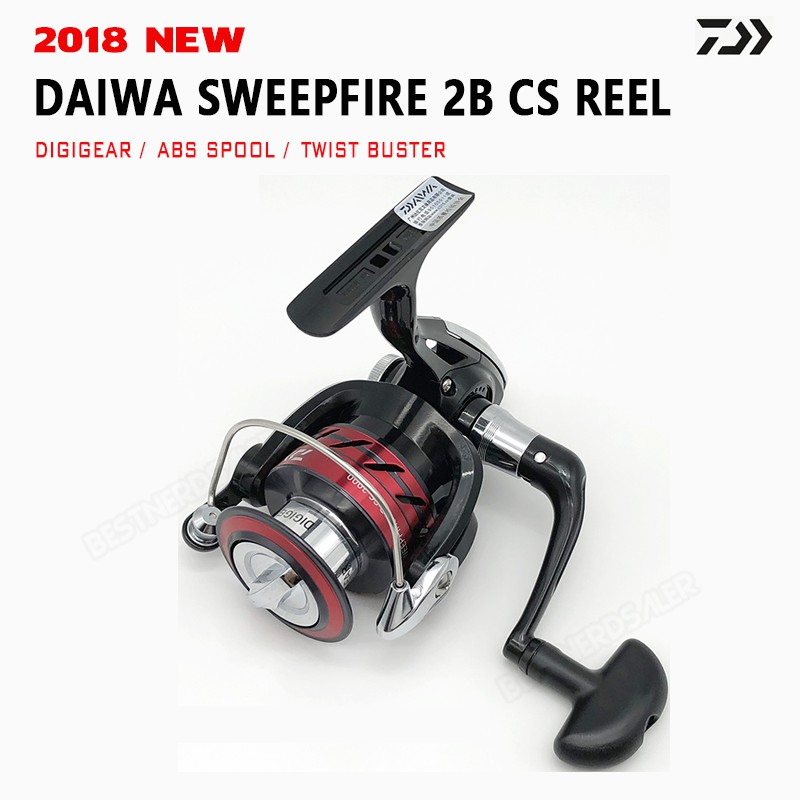 2018 NEW Spinning Fishing Reel Daiwa SWEEPFIRE CS 6kg Drag