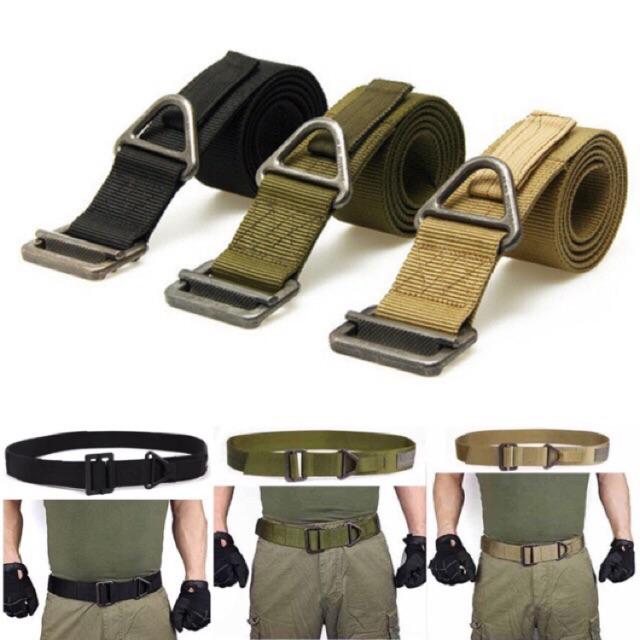 Adjustable Survival Tactical Belt Emergency Rescue Rigger Militaria NEW 02