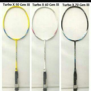 ... Li ning racket Turbo X50iii / X60iii /X 70iii. like: 6