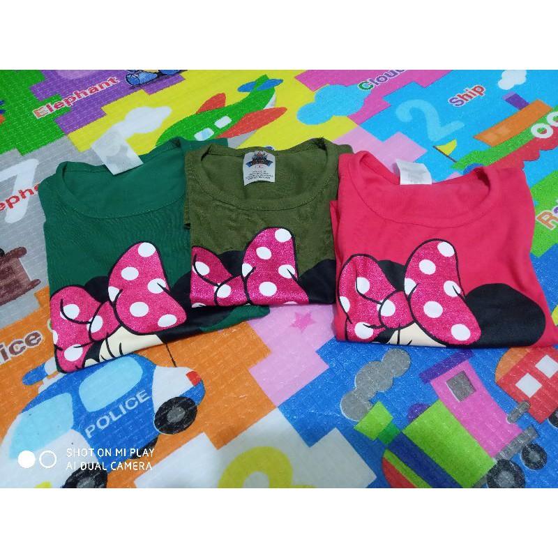 Baju Budak Minnie Mouse Shopee Malaysia