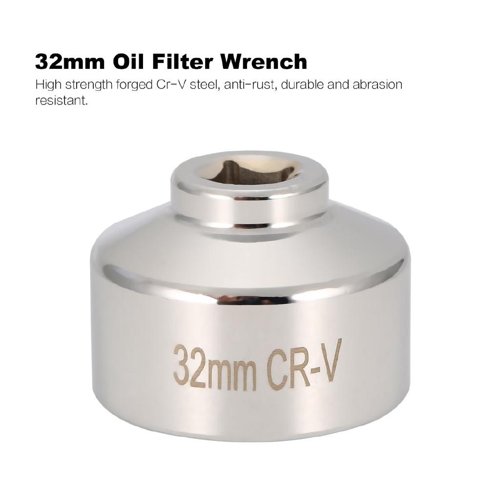 Oil Filter Wrench 836mm 16 Socket Cap Remover Tool for Audi BMW Volkswagen Car