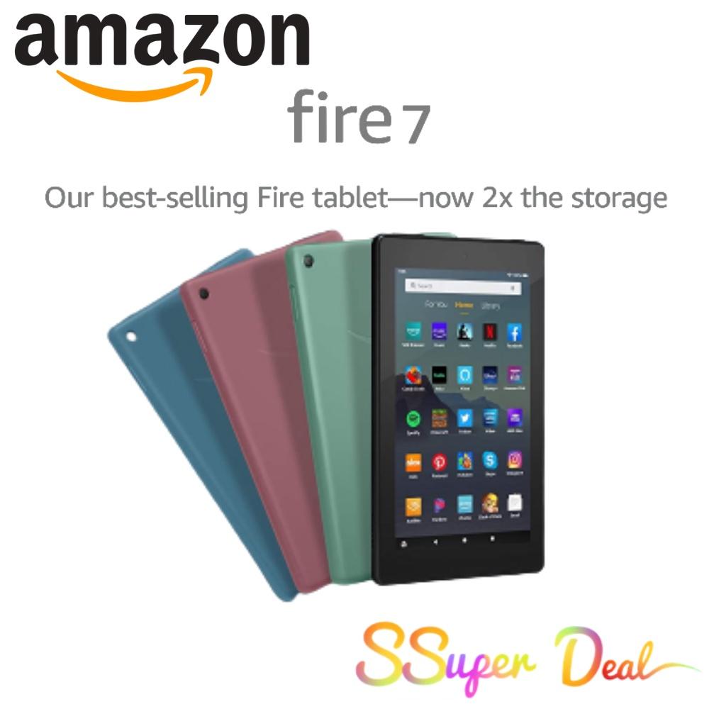 "Amazon Fire 7 Tablet 2019 Version (7"" display, 16 GB) - Black"