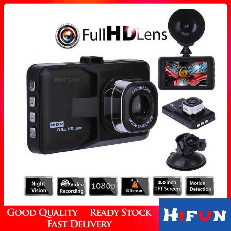 "Full HD 1080P 3 /""Car Car Camera with Motion Detection Night Vision G Sensor"