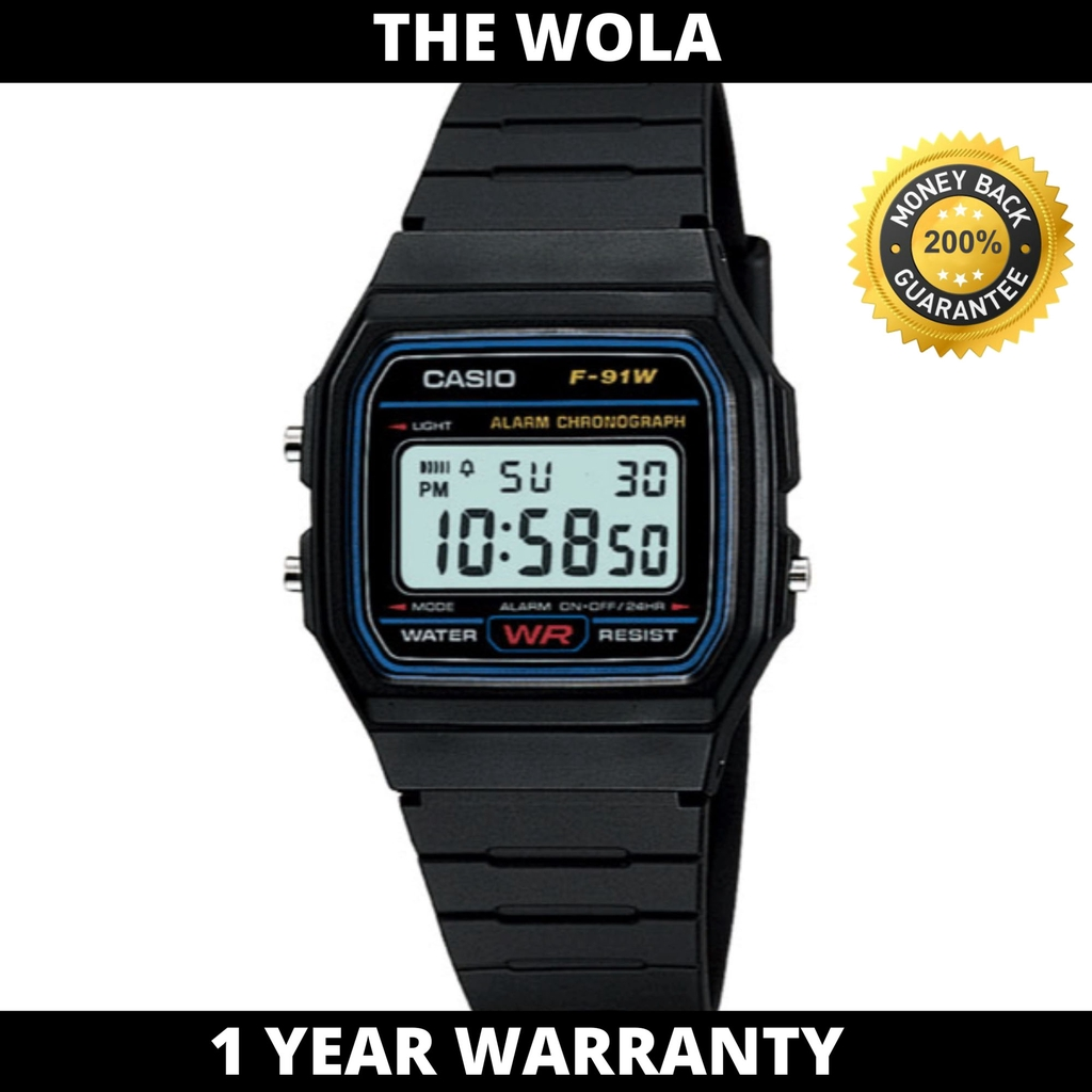 Casio F91W Classic Resin Strap Digital Sport Watch