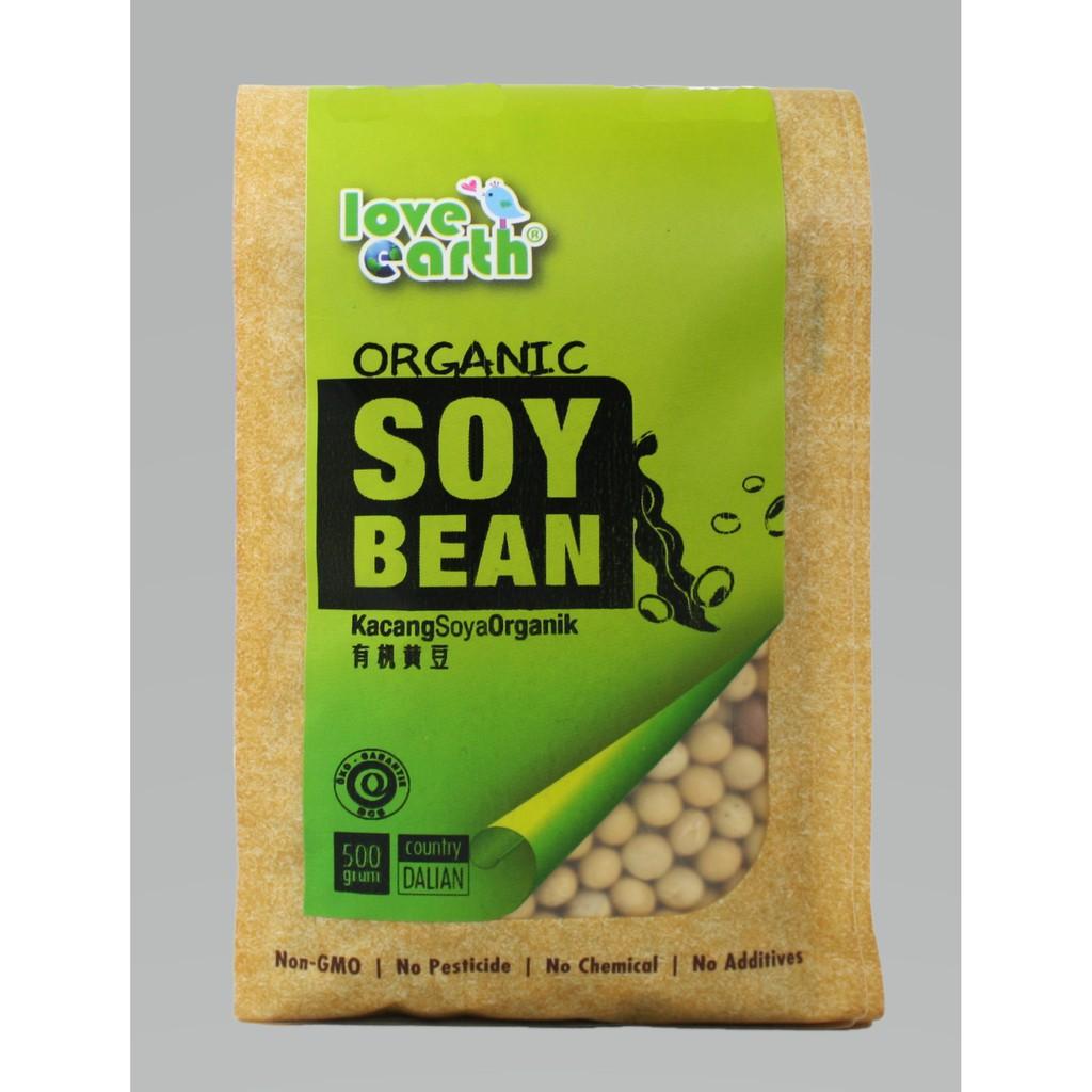 Organic Soybean 500g