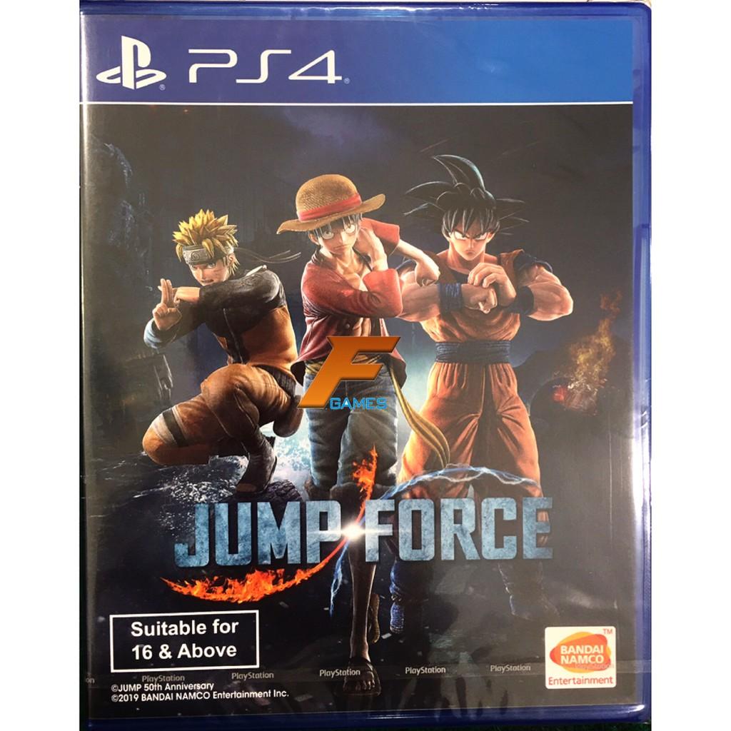 PS4 Jump force (Zone3/Asia)( English ) แผ่นเกมส์ ของแท้ มือหนึ่ง มือ1 ของใหม่