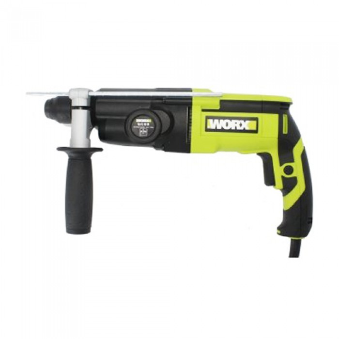 WORX WU340D 26MM 3MODE ROTARY HAMMER DRILL SDS PLUS 800W CHISEL HACKING CHIPPING