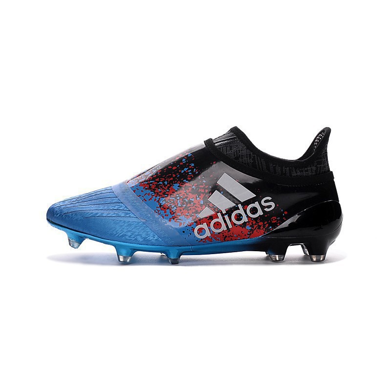 arrives elegant shoes buying cheap FAST SHIPPING🔥Discount Adidas X 16 Purechaos FG Paris Pack Mens Football  Shoes Soccer Blue