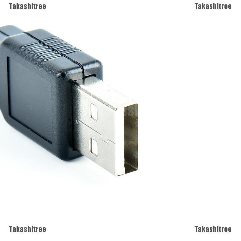 2//5//10pcs type a usb 4 pin male socket connector plug termination plastic shell