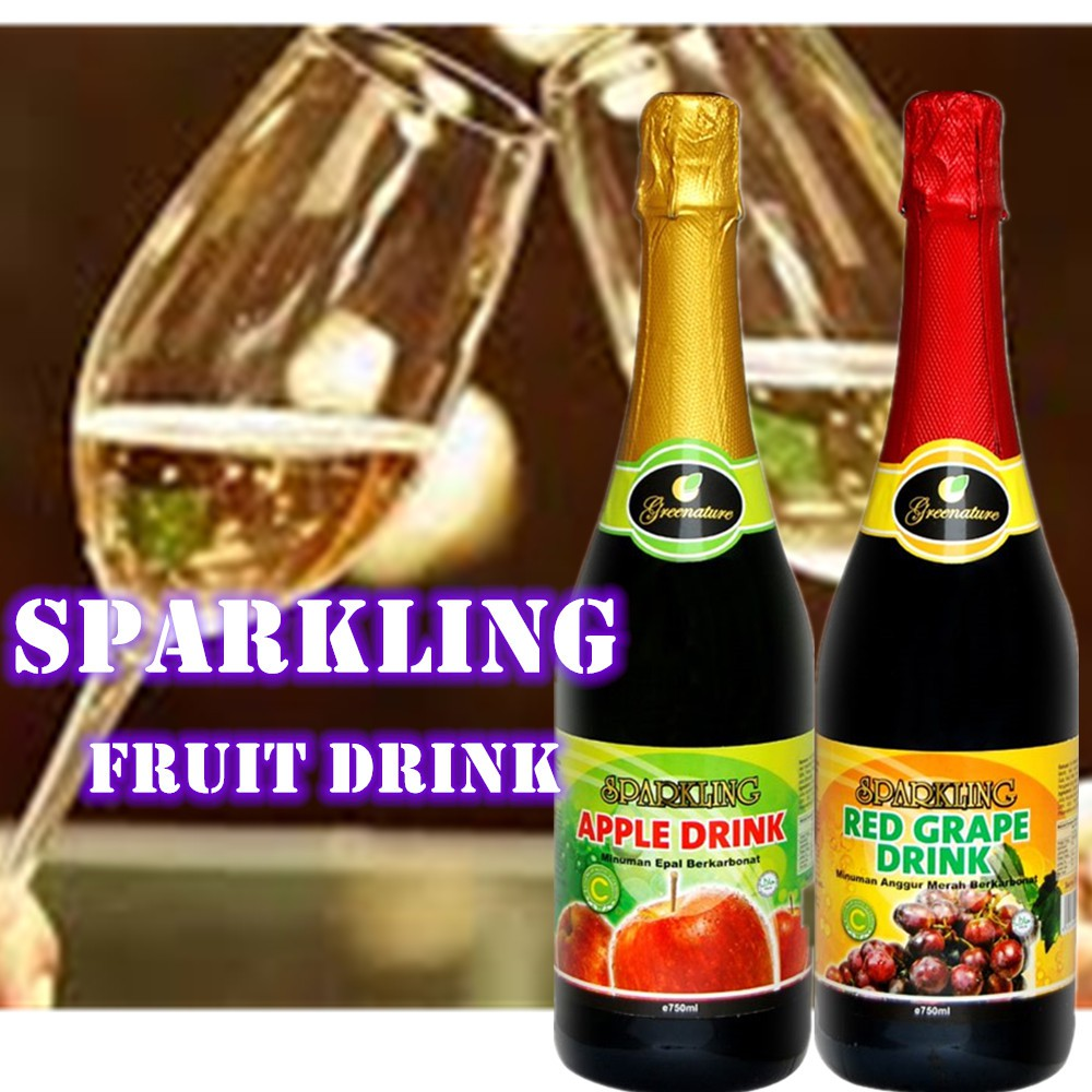 Greenature Sparkling Fruit Drink