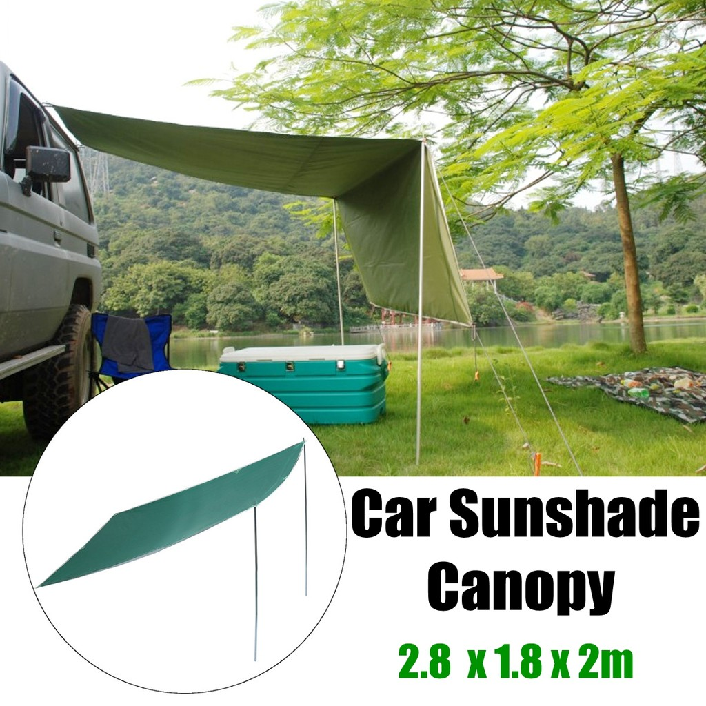 Portable Car Tent Awning Rooftop Suv Shelter Truck Camping Light Shed Photo Cube Softbox With 4 Colored Background 80 X Outdoor Canopy Shopee Malaysia