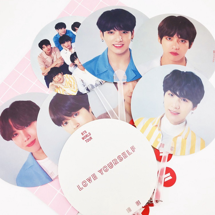 Novelty & Special Use The Final Bts World Tour Love Yourself Speak Wings Photo Frame Same Paragraph Concert Picture Bangtan Boys Jimin J-hope Suga V Excellent Quality