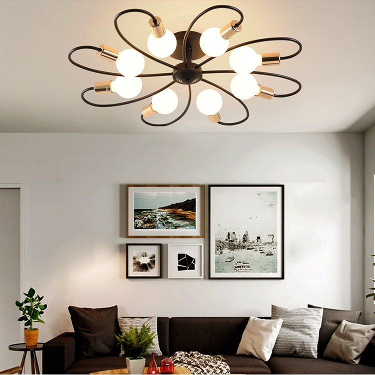 Nordic Bedroom Ceiling Lamp Modern