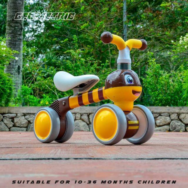Geometric Little Bee Push Bike