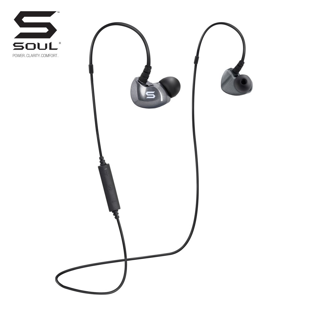 Soul SS19 High Performance Sport Earphones With Bluetooth