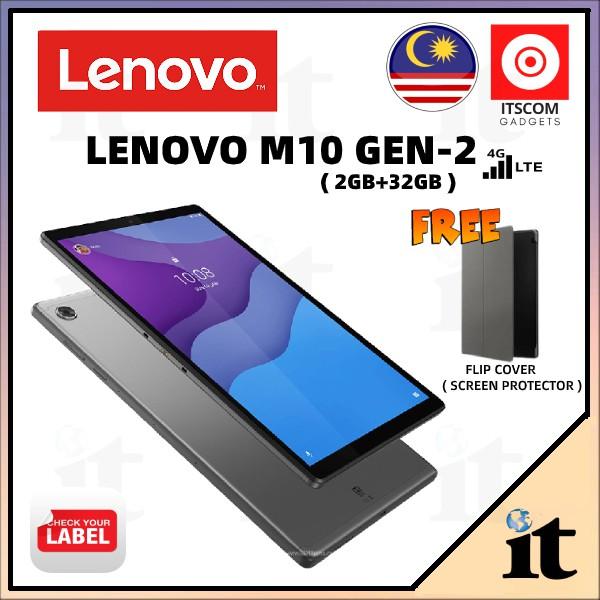 LENOVO M10 HD/FHD+ GEN2 - ( 2+32GB / 4+64GB )1 ORIGINAL MALAYSIA 1 YEARS WARRANTY #FREE GIFT COMBO