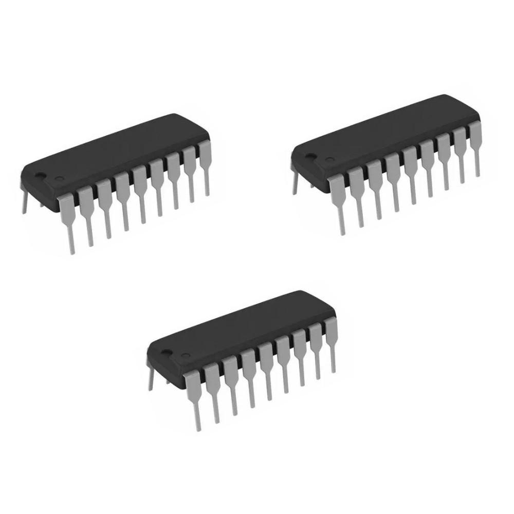 Microchip Technology IC Mcu 8Bit 7Kb Flash 18Dip PIC16F648A-I/P 3 Units /  Pack