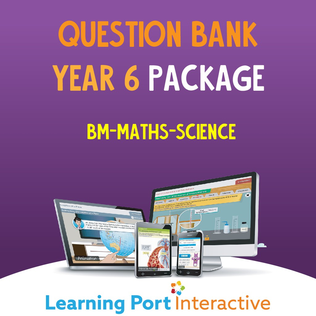 Learning Port Interactive - Question Bank Year 6 Package