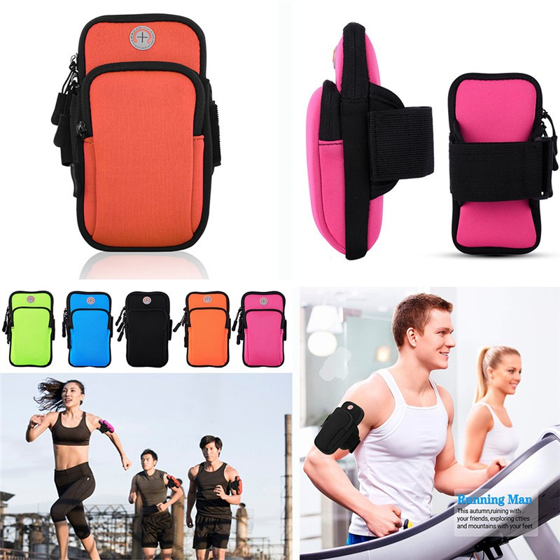 OM Arm Bag Sports Outdoor Fitness Casual Package Armband