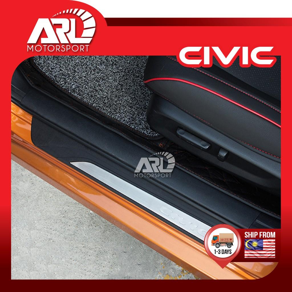 Honda Civic (2016-2020) OEM Door Step / Scuff Plate Door Step Protector Car Auto Accessories ARL Motorsport