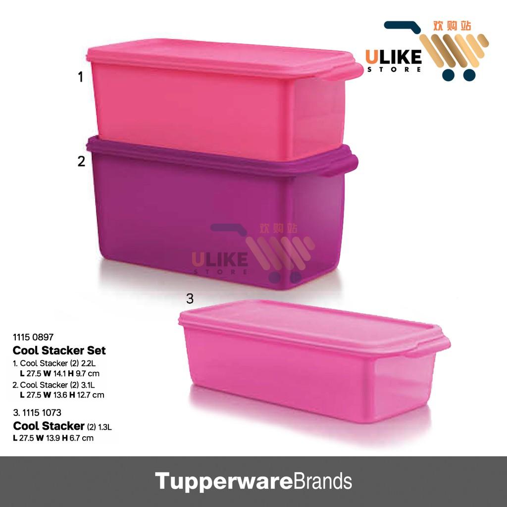 Tupperware Cool Stacker Set / Cool Stacker / Fridge Keeper
