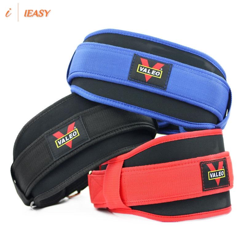 Gym Weight Lifting Belt Nylon Squat Belt Fitness Martial arts training belt